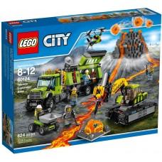 LEGO City Vulkanas: Tyrinėjimų bazė 60124