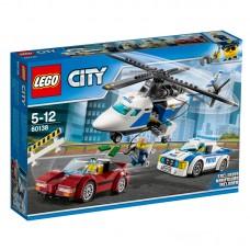 LEGO City Padėk Chase McCain ir policijai sučiupti nusikaltėlį 60138