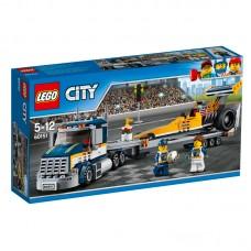 LEGO City Traukos lenktynių automobilių transporteris 60151