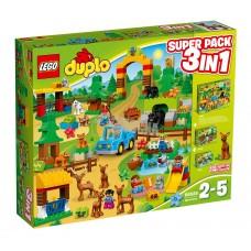LEGO DUPLO Super miško rinkinys 10581+10582+10584 66538