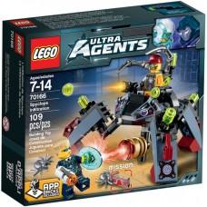 LEGO Ultra Agents Spaiklopų infiltracija 70166