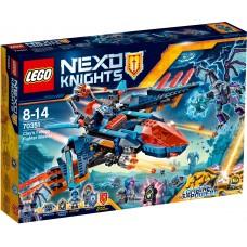 LEGO Nexo Knights Clay sakalas naikintuvas 70351