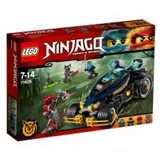 LEGO Ninjago Samurajaus keturratis 70625