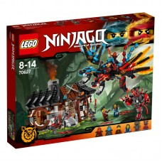 LEGO Ninjago Skirsk į drakono kalvę su Kai ir Nya 70627
