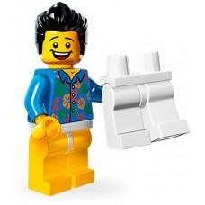 LEGO® Minifigūrėlė Vaikinas, kur mano kelnės? 71004-13