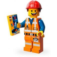 LEGO Minifigūrėlė 71004-3: Hard Hat Emmet