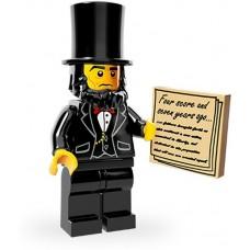LEGO Minifigūrėlė 71004-5: Abraham Lincoln