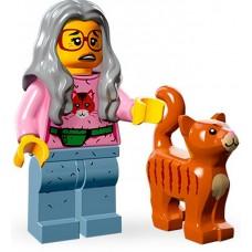 LEGO Minifigūrėlė 71004-6: Mrs. Scratchen-Post