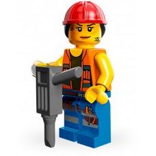 LEGO® Minifigūrėlė Darbininkė 71004-9