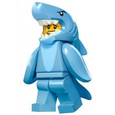 LEGO Minifigūrėlė 71011-13: Shark Suit Guy