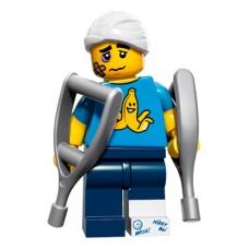 LEGO Minifigūrėlė 71011-4: Clumsy Guy