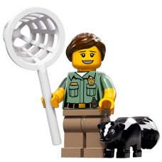 LEGO Minifigūrėlė 71011-8: Animal Control Officer