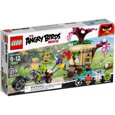 LEGO® The Angry Birds Movie Kiaušinių vagystė iš paukščių salos 75823