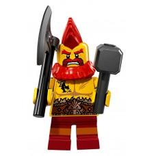 LEGO Minifigūrėlė Kovotojas Dwanas 71018-10