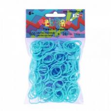 Rainbow Loom® Turkio spalvos gumyčių papildymas
