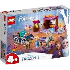 LEGO® Disney Elzos kelionė vežimas 41166