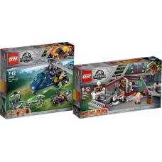 LEGO Jurassic World 75932 + 75928 RINKINYS