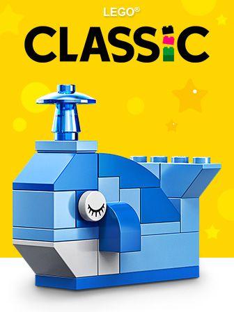 LEGO Classic Kaladėlių rinkiniai ir statymo lentelės (20)
