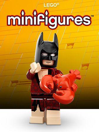 LEGO Minifigūrėlės (186)